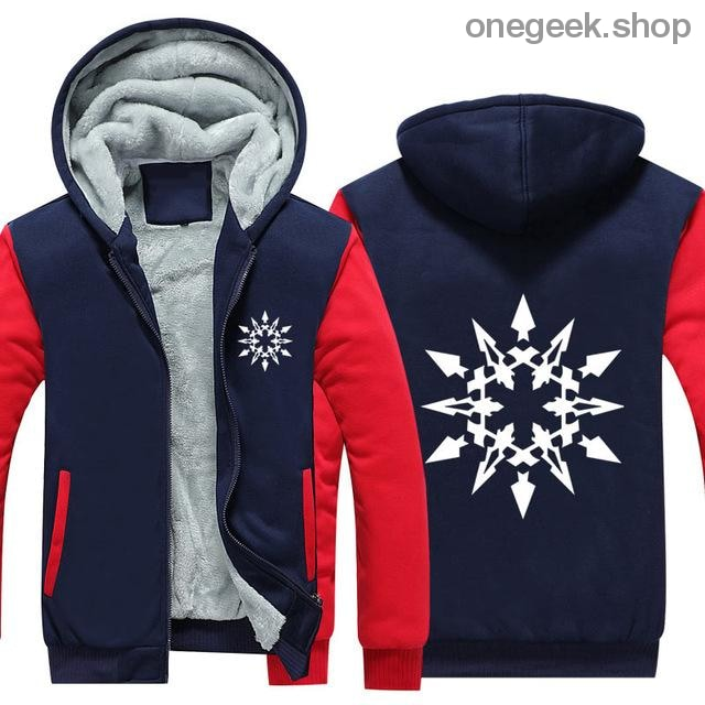 RWBY Hoodie - Get the Rose Schnee Belladonna Symbols on These Awesome Hoodies - red 1 / S - clothes