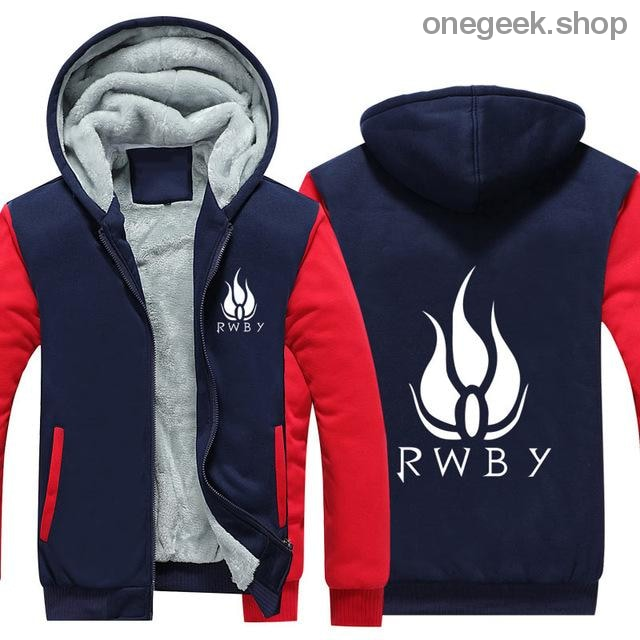 RWBY Hoodie - Get the Rose Schnee Belladonna Symbols on These Awesome Hoodies - red 2 / S - clothes