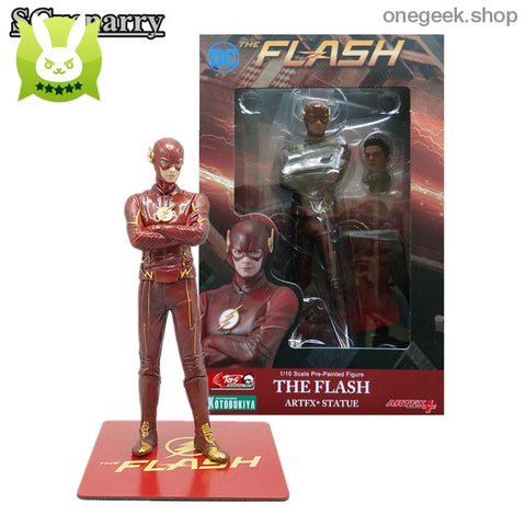 The Flash Kotobukiya ArtFX Statue - DC Comics Goods Free Shipping - figure