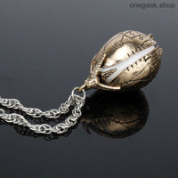 The Golden Egg Pendant Necklace - Harry Potter Goblet Of Fire - accessories