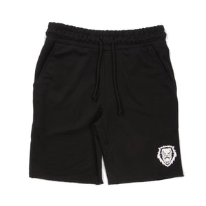 Rawr Premium French Terry Shorts - Black
