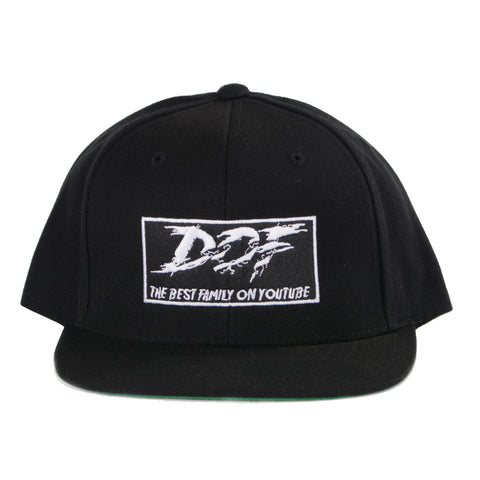 DOF SNAPBACK HAT OLD MERCH - BLACK