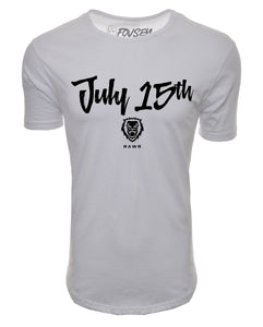JULY 15TH Elongated Shirt - White