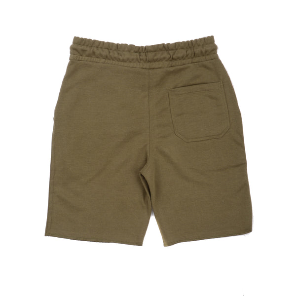 Rawr Premium French Terry Shorts - Olive