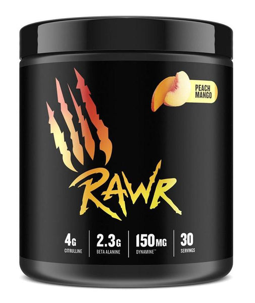 Rawr Pre-Workout 30 Servings - Peach Mango