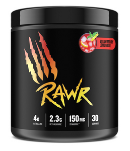 Rawr Pre-Workout 30 Servings - Strawberry Lemonade