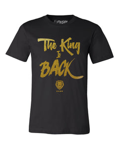 Rawr The King is Back Unisex Shirt - Black/Gold
