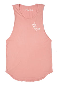 Rawr Muscle Tank Tops - Salmon