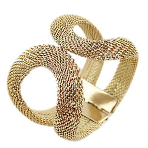 Amazing  Antique Gold Plated Infinity Bracelet + Free Shipping