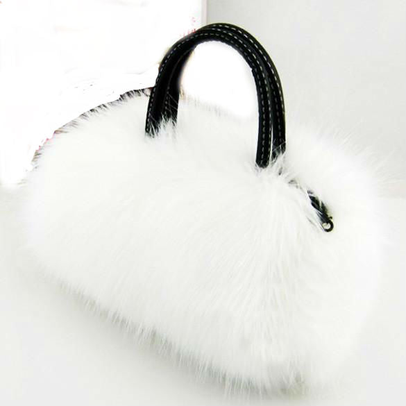 b6beaaca53 Tap to expand. PrevNext. Image of Faux Rabbit Fur bags Small Messenger ...