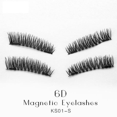 Image of Magnetic False Eye Lashes 2 Pair multiple styles - Free + Shipping