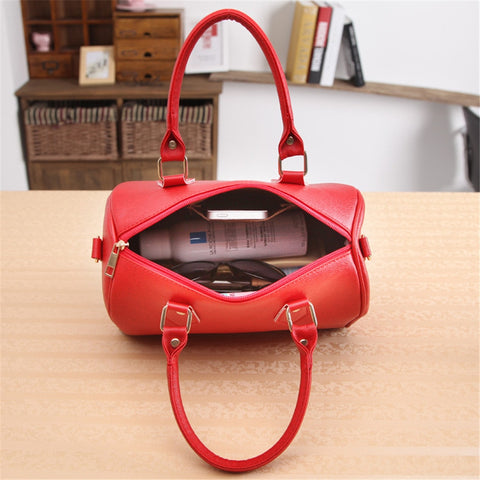Image of Hobo Style Handbag Shoulder Bag Tote Purse Leather