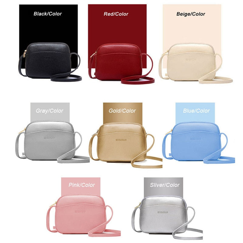 Hot Casual Crossbody Handbag Casual Style Mini in Multiple Candy Colors