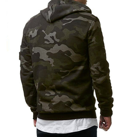 Hoodies Men Autumn 2017 Men Military camouflage sweatshirt Pullover Casual Hip hop Hoodies & Sweatshirts Plus velvet 3d hoodies