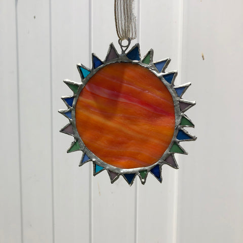 Sunshine Stained Glass Sun Catcher