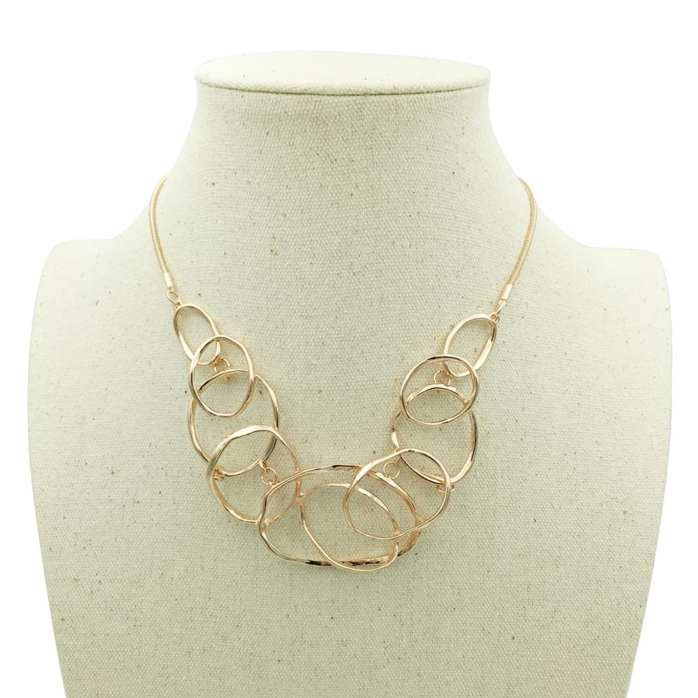 Geometric Multilayer Necklaces