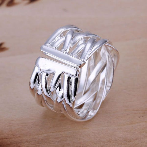 Image of 925 Sterling Silver Thumb Ring