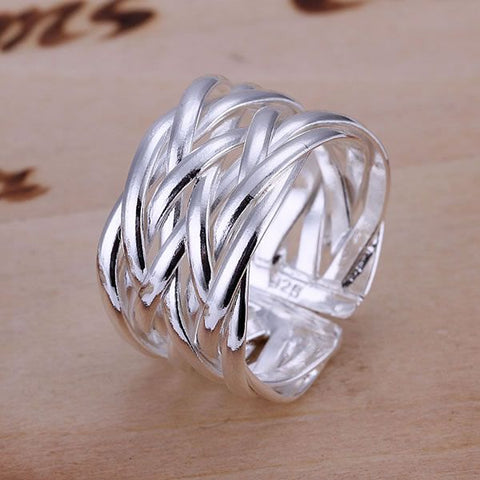 925 Sterling Silver Thumb Ring