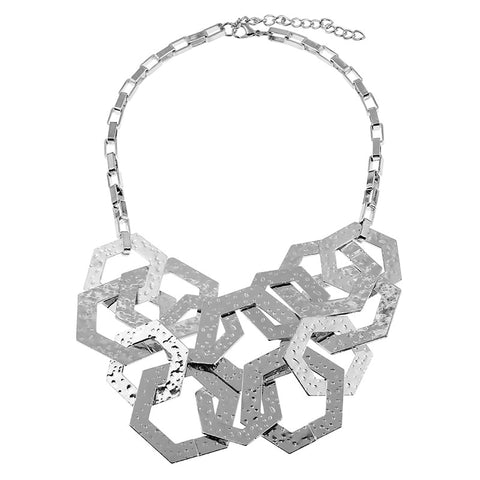 Image of Geometry Vintage Necklace
