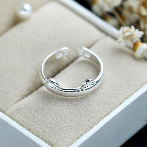 Image of 925 Silver Cat Ring