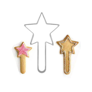 Magic Wand Cookie cutter - Free + Shipping