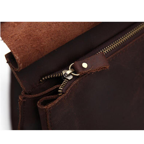 100% Real Genuine Leather Women Backpack Crazy Horse Cowhide Strap Laptop Daily Backpack Top Quality Handcraft Bag
