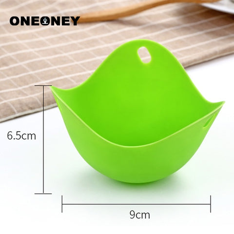 4 pc Silicone  Egg Poachers