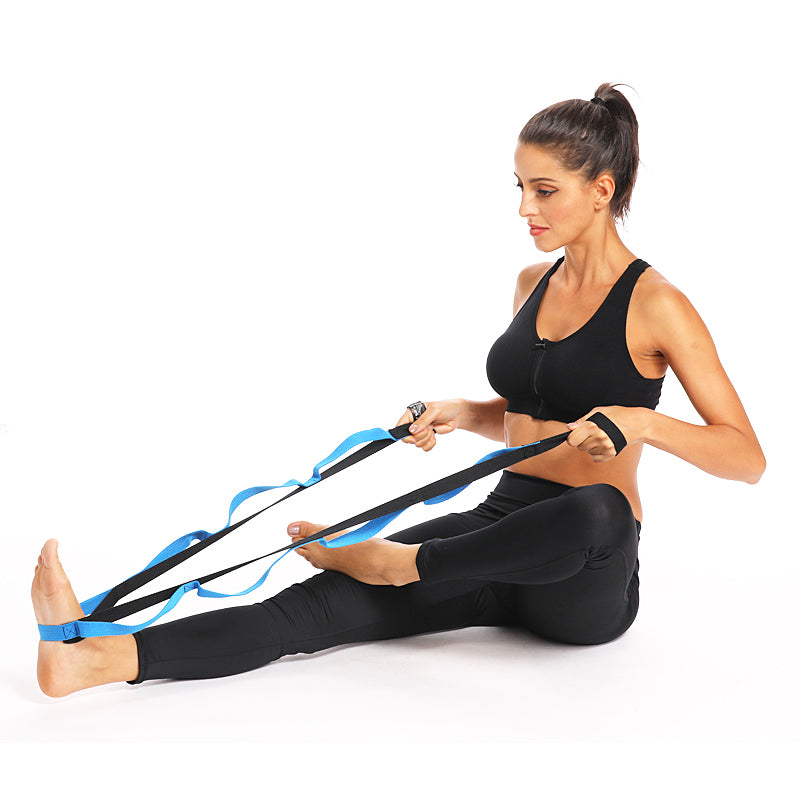 Pilates Pull Strap Yoga Elastic Pull Rope Professional Gymnastics Training Resistance Bands Latin Fitness Crossfit Stretch Band Resistance Band