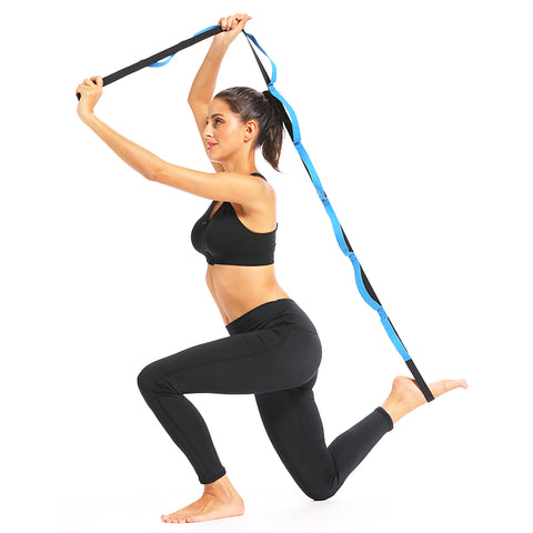Image of Pilates Pull Strap Yoga Elastic Pull Rope Professional Gymnastics Training Resistance Bands Latin Fitness Crossfit Stretch Band Resistance Band