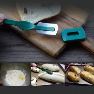 Specialty European Breads Arc Curved Bread Knife Western-style Baguette Cutting French Toas Cutter kitchen Baking Pastry Tools
