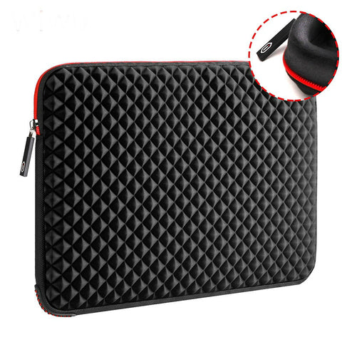 Image of Waterproof Shockproof Laptop sleeve13.3 15.6 17 17.3 inch Laptop Sleeve Waterproof Shockproof Diamond pattern Skin Notebook Case Bag