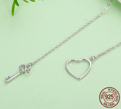 Image of The Key To Your Heart Pendant Necklaces
