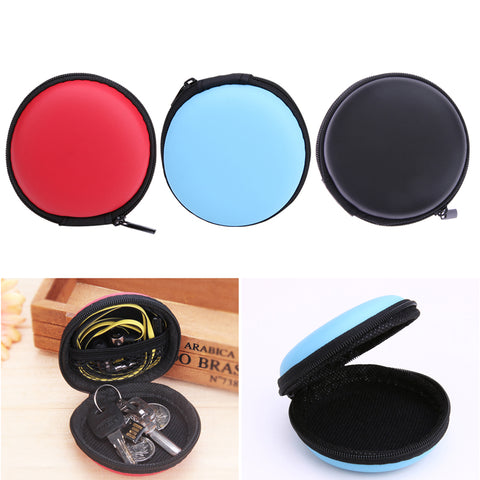 Image of Charging block and ear bud/earphone organizer for your  earphone Wire Box Data Line Cables Storage Box