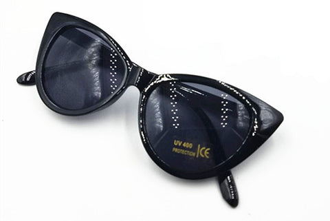 Image of Retro Vintage Cat-Eye Sunglasses Women Eyewear
