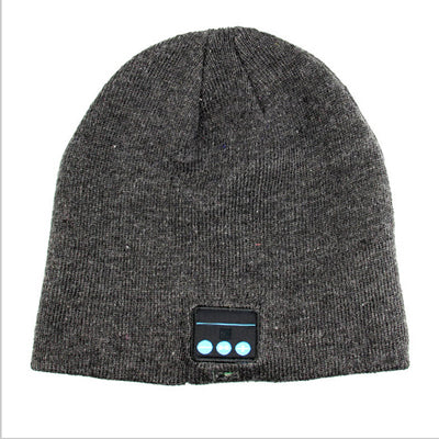 Image of High Quality Bluetooth Smart Cap Headphone Headset Earphone Soft Warm Beanie Hat Speaker Music Hat Headphones with Microphone