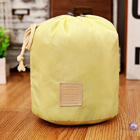 Image of Waterproof Cosmetic Bag Drawstring Makeup Bag Beauty Case