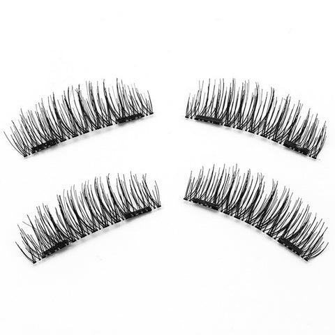 Magnetic False Eye Lashes 2 Pair multiple styles - Free + Shipping