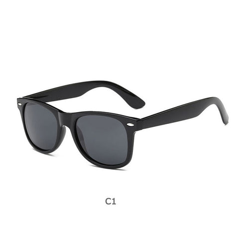 Sunglasses Men Polarized Women Small Vintage Classic Sun Glasses Mirror Eyeglasses UV400 With Cases