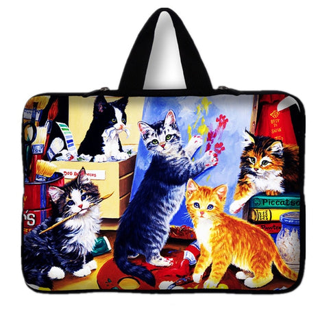 "Computer Bag Zipper Laptop Sleeve Case For 10.1"" to 17.3'' Notebook Bag Size - 15.6 inch"