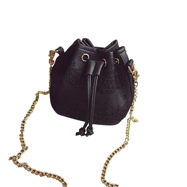 Lace Satchel Cross Body Handbag