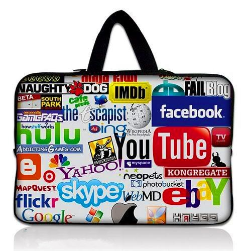 Soft Sleeve Laptop Bag Case for 9.7 inch