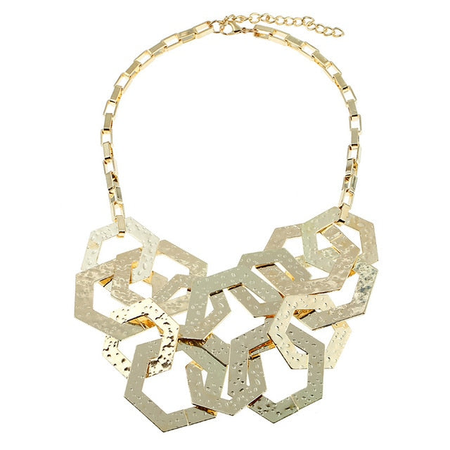 Geometry Vintage Necklace
