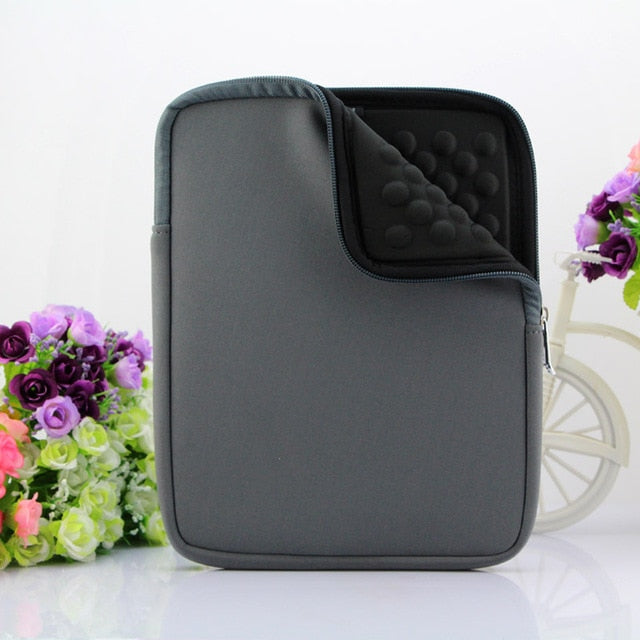 "IPAD Waterproof shockproof with Zipper Laptop Sleeve  8 "" to 10"" Tablet Case Cover Protective Case"