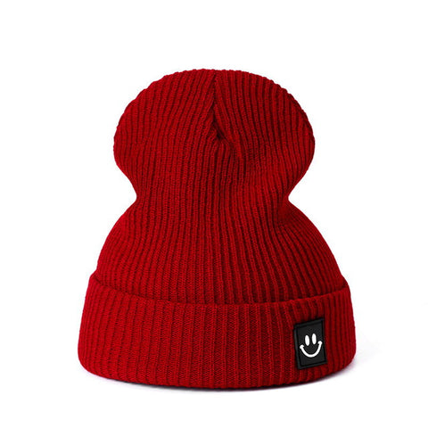 Image of Winter Knitted Unisex Hat Cotton Beanie