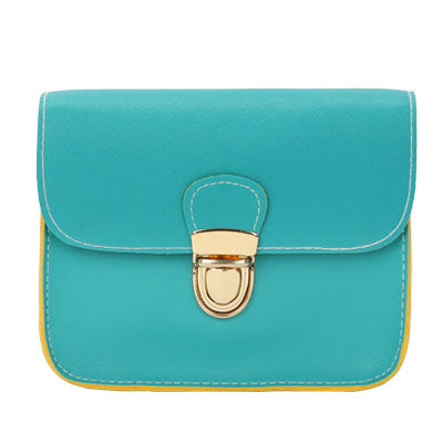 Image of Evening Casual Leather Flap Handbags with Long Cross Over Strap
