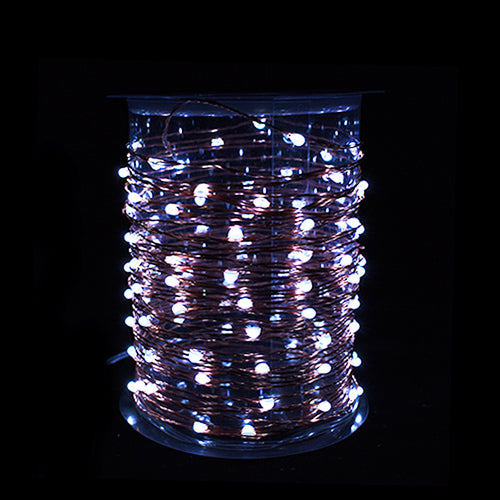 Copper LED wire String Lites AA Battery Operated 33FT 10M 100 led  Decorations LED Copper Wire String Fairy Lights Lamps