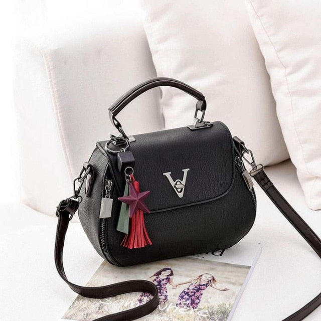 Crossbody handbag in multiple colors