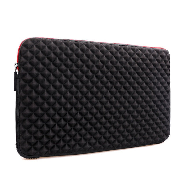 Waterproof Shockproof Laptop sleeve13.3 15.6 17 17.3 inch Laptop Sleeve Waterproof Shockproof Diamond pattern Skin Notebook Case Bag