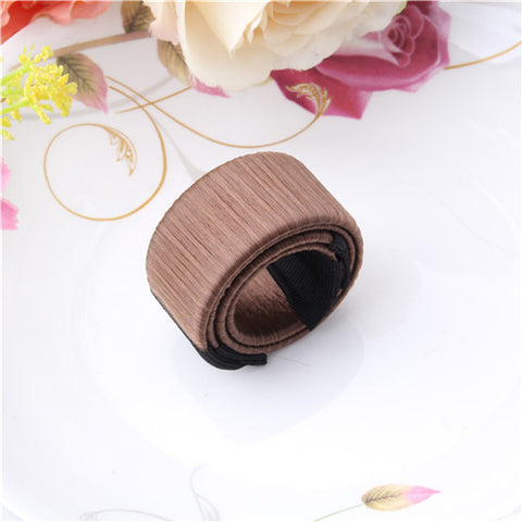 Image of Magic DIY Tool Bun Maker French Dish Women Hair Accessories