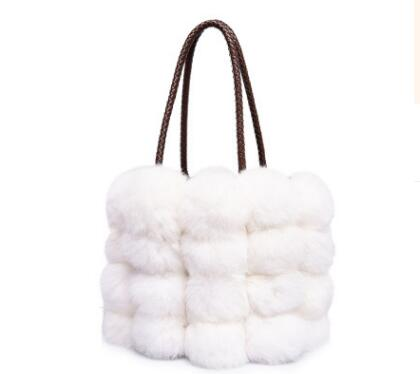 Image of Rabbit Fur Handbag
